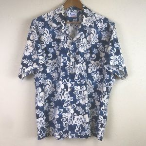 VINTAGE HAWAII Aloha Button up Short Sleeve Shirt
